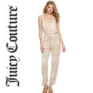 NEW Juicy Couture Women's Snake Skin Jumpsuit.
